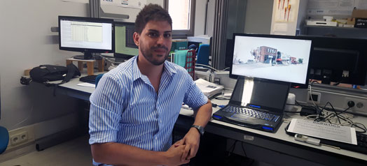 A researcher from the UAH, awarded at the 'Robotics' congress for an autonomous driving system